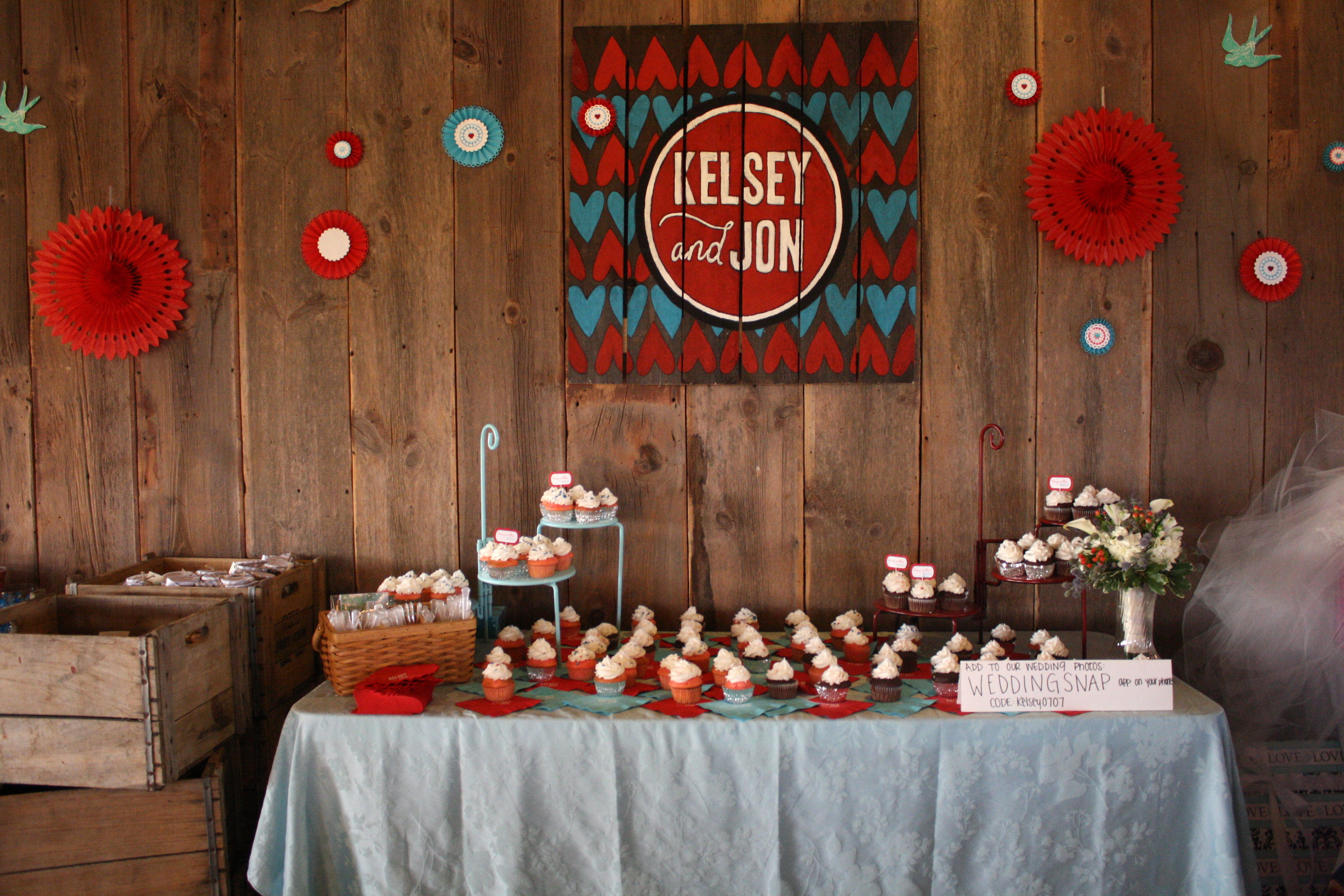 Vintage love a barnyard wedding red leaf style junglespirit Image collections