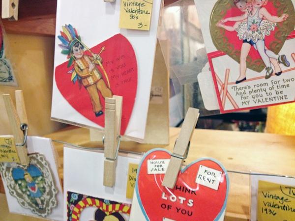 Vintage Valentine's Day cards | redleafstyle.com