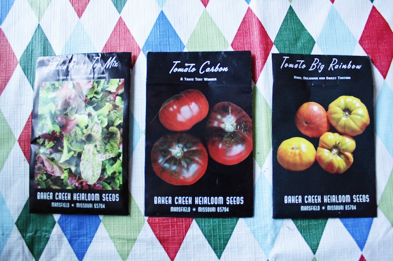Seed Packets | redleafstyle.com