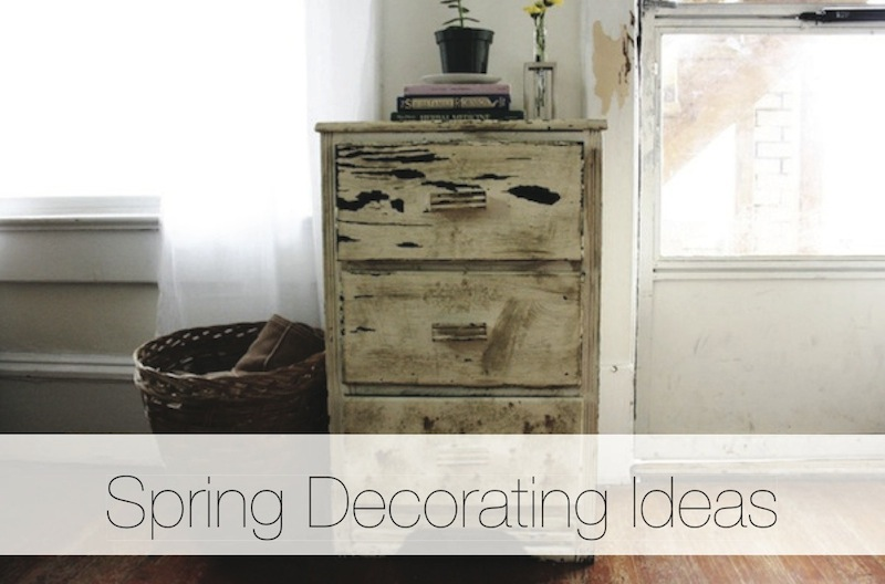 Spring Decorating Ideas | redleafstyle.com