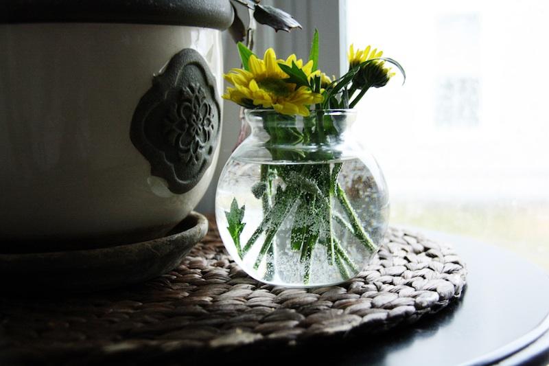 Pretty Yellow Flowers | redleafstyle.com